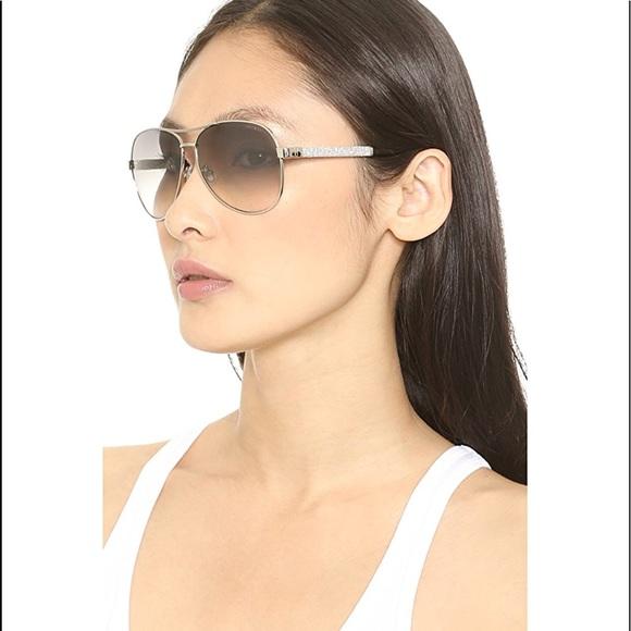 "7de246ccc49 Jimmy Choo Accessories - Jimmy Choo ""Lexie"" Aviator sunglasses"
